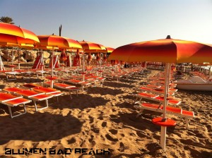 Lido Blumen Bad Beach